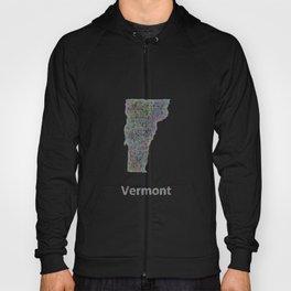 Vermont map Hoody