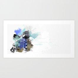 Gamma Art Print