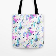 Pastel Unicorns Tote Bag
