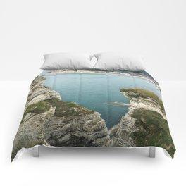 Etretat, France - Coast Comforters