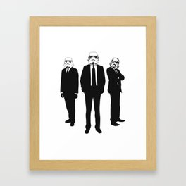"""These Aren't The Prom Dates We're Looking For"" Framed Art Print"