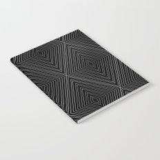 Diamonds (Black) Notebook
