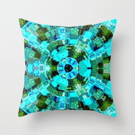 Delta Pulse Throw Pillow