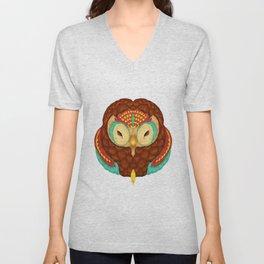 Owl Alebrije  Unisex V-Neck
