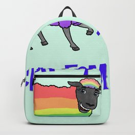 Rainbow Sheep of the Family Backpack