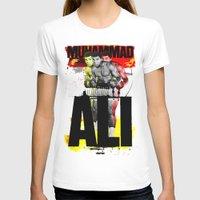 ali gulec T-shirts featuring Muhammed Ali by Genco Demirer