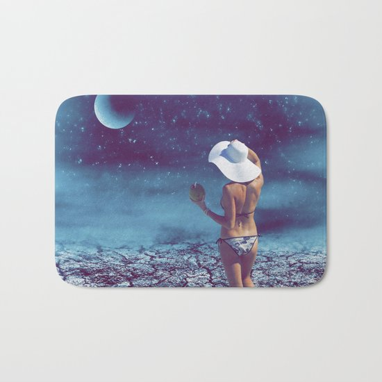 Blue Night Bath Mat