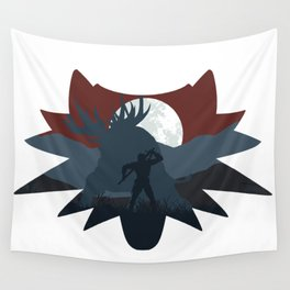 The beast hunt (v2) Wall Tapestry