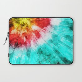 Colorful Tie Dye Laptop Sleeve