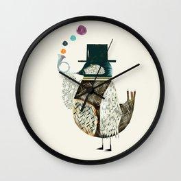 the dapper bird Wall Clock
