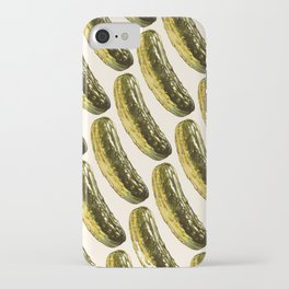 Pickle Pattern iPhone Case