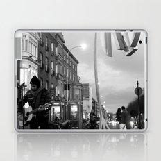 Waiting.. [Black & White] Laptop & iPad Skin
