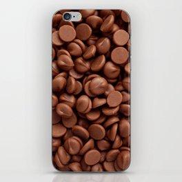 Milk chocolate chips iPhone Skin