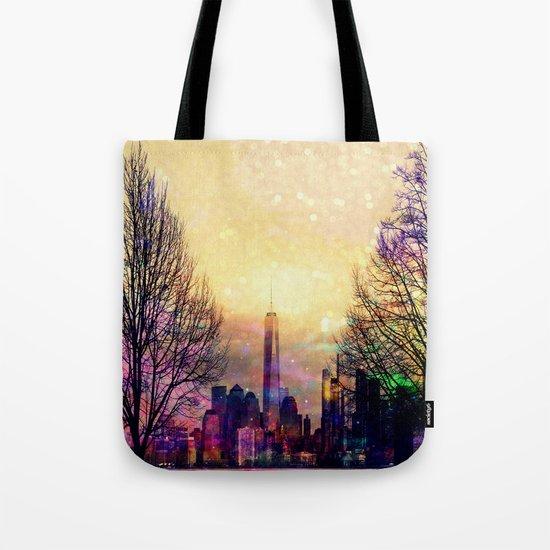Space Manhattan Tote Bag