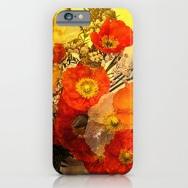 Poppy Expressions iPhone Case