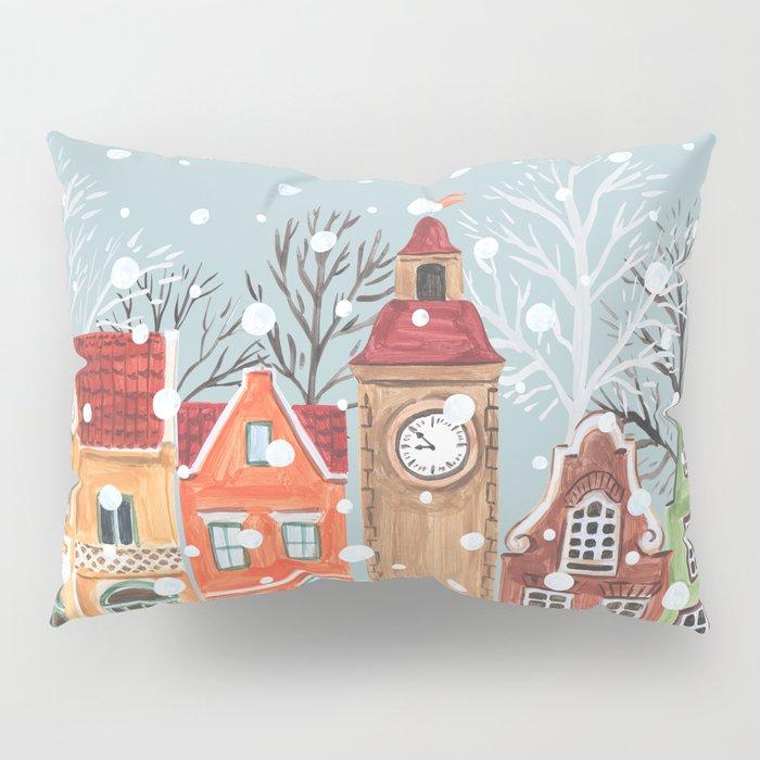 winter time Pillow Sham