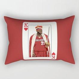King Lebron Rectangular Pillow