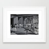 degas Framed Art Prints featuring Degas Master Study by Mallory Pearson