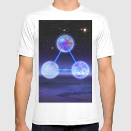CSETI Logo in 3D T-shirt