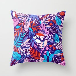 exotic flowers spring summer collection Throw Pillow