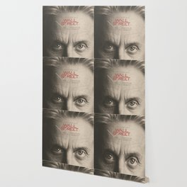 Wall Street, alternative movie poster, Gordon Gekko, Oliver Stone, film, minimal fine art playbill Wallpaper