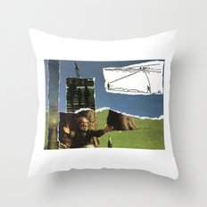 Sometimes You Have To Embrace It, Before It's Too Late Throw Pillow