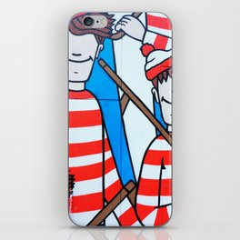 FIND WALDO iPhone Skin