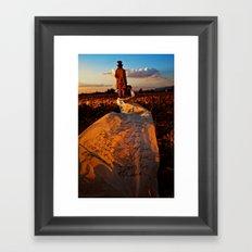 The List Framed Art Print