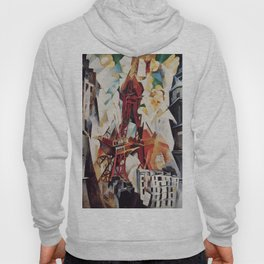 """Robert Delaunay """"Graphic Champs de Mars: The Red Tower"""" Hoody"""