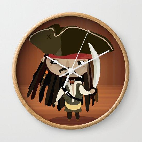 Captain Sparrow Wall Clock