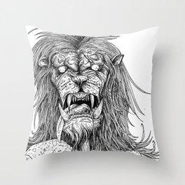 HELL'S ZODIAC - LEO Throw Pillow