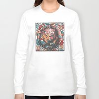 leo Long Sleeve T-shirts featuring Leo by Heinz Aimer