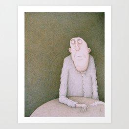 Coma Art Print