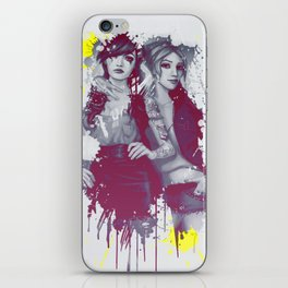 two girls iPhone Skin