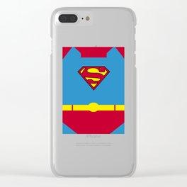 Superman - Superhero Clear iPhone Case