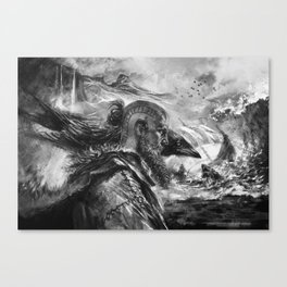 Among the Gods Canvas Print