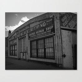 Old Repair shop Canvas Print