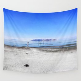 Dreaming of beaches Wall Tapestry