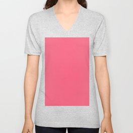 Brink pink Unisex V-Neck