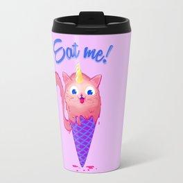 Ice cream cat unicorn Travel Mug