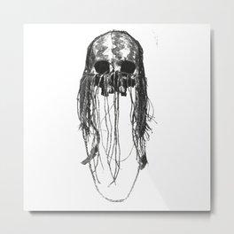 Chaman skull Metal Print