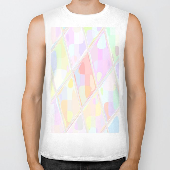 Re-Created Mirrored SQ LXXV by Robert S. Lee Biker Tank