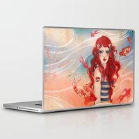 pirate Laptop & iPad Skins featuring Pirate by Minasmoke