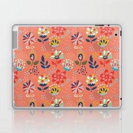 Pretty Floral Laptop & iPad Skin