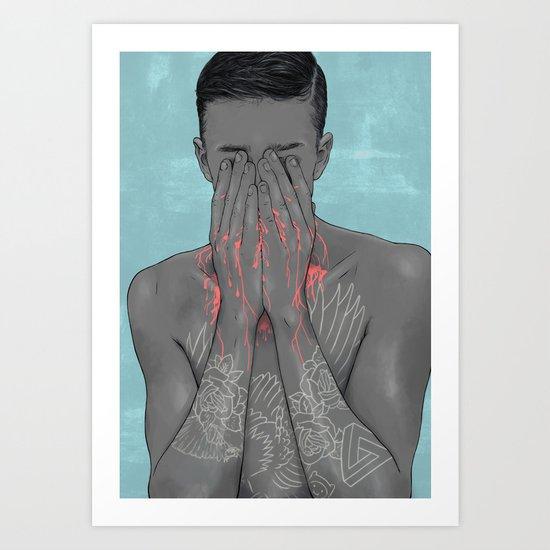BOY OH BOY Art Print
