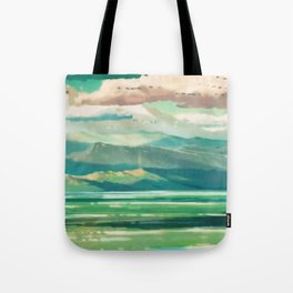 higher.distance Tote Bag