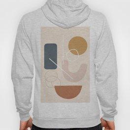 Minimal Abstract Shapes No.57 Hoody