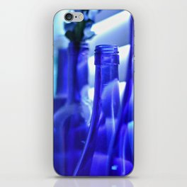 Blue Bottles - 1 iPhone Skin