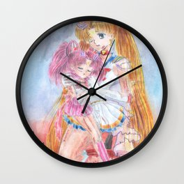 Not a Happy Ending Wall Clock