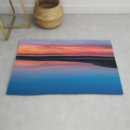Sunset Seascape Wales Rug